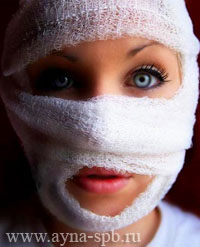 Уход за кожей лица после пластической операции